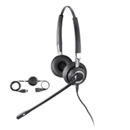 815848cfa11 BIZ 2425 & Jabra LINK 220. The ultimate corded headset wirh  noise-cancelling technology. Includes two earpieces for greater listening  accuracy.